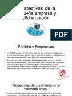 Perspectivas de La Pequeña Empresa y Globalización