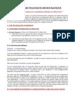 2- Comment s'Organise La Compétition Politique en Démocratie