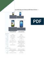 Samsung Galaxy S4 vs S4