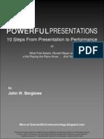 Powerful Presentations eBook