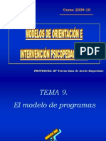 Programas de Orientacion