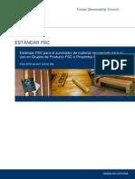 FSC-STD-40-007 V2-0 ES Suministro de Materiales Recuperados