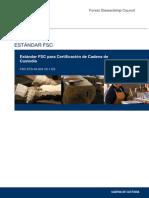 FSC-STD-40-004 V2-1 ES Certificacion de Cadena de Custodia