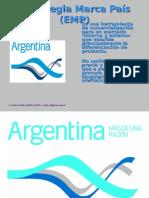 Presentación Estrategia Marca País (EMP) Argentina