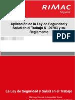 PICLima Aplicacion Ley SST N29783 Reglamento 07032013