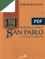 Bortolini Jose -Introducción a San Pablo y Sus Cartas