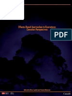 Effects-Based Approaches to Operations-Canadian Perspectives
