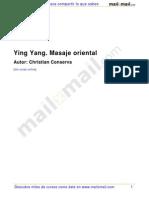 Ying Yang Masaje Oriental