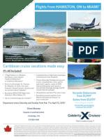 2015 Celebrity Cruise deal for March Break