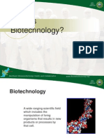 What Biotechnology