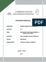 Realidad Politica Economica Del Peru