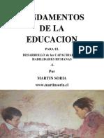 FUNDAMENTOS DE LA EDUCACIÓN para el desarrollo de las capacidades y habilidades humanas 5