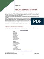 29 Insertando Saltos de Pagina en Writer
