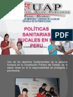Politica Sanitaria Buclaes en El Peru