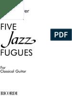 Five Jazz Fugues