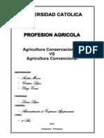 Agricultura Conservacionista en Caaguazú Este