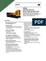 500 KVA PrimeC15 Lean I6_ EU