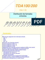 Programación Entrada Llamadas KX-TDA200