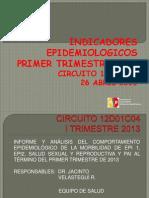 presentacion indicadores epidemiologicos