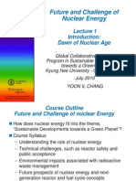 Lecture 1[1].Pdffuture and Challenge of Nuclear Energy