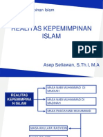 5. Realitas Kepemimpinan Islam