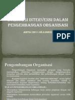 Strategi Intervensi Dalam Pengembangan Organisasi - Copy