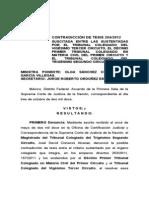 Contradicción de Tesis Suprema Corte de Justicia de la Nación, para anular intereses usurarios