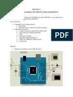 PRÁCTICA 1 Entorno IDE Arduino y Proteus