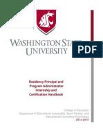 2014-15 Principal Handbook