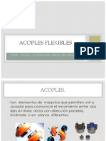 Acoples flexibles