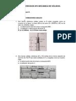 Guía de Ejercicios Nº3 Mecánica de Sólidos