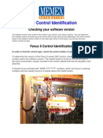 CNC Control Identification