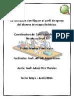 Curso 3 Ciencias 1-6 Maria