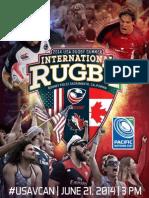 USA Eagles v Canada Rugby Program