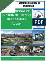 Plan Regional de Gestion de Riesgos de Desastres