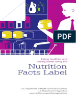 nutrition facts label in detail