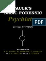 Faulk's Basic Forensic Psychiatry