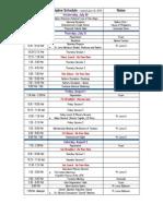 #FANHS2014 Tentative Schedule 06-2014