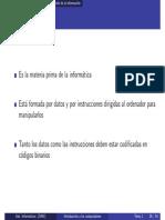 Representacion de La Informacion