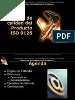 3 ISO 9126 Estandar de Calidad Del Producto