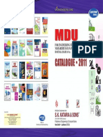 Mdu Catalogue