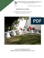 Reporte Final - Rehabilitación Del Pozo La Magdalena - AST-AD-FED(09)RP-001!11!00 - Oct.21,11