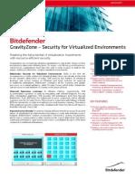 Datasheet Gravityzone Sve