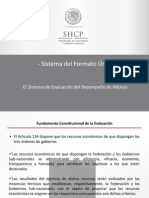 El Sistema de Evaluación Del Desempeño de México
