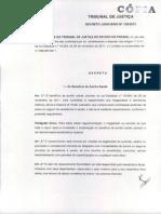 Decreto Judiciário Nº 129 - 2012 - Auxílio Saúde