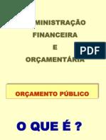 Orçamento Público Atualizado