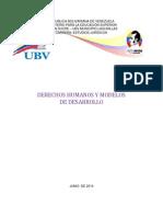 Trabajo de Derechos Humanos y Modelos de Desarrollo