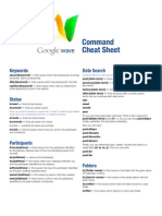 Command Cheat Sheet