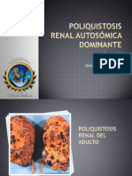 Poliquistosis Renal Del Adulto