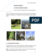 Planul local de Actiune pentru Mediu al Municiupiului Bucuresti